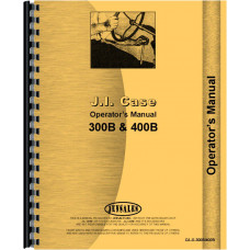 Case 300B Tractor Operators Manual