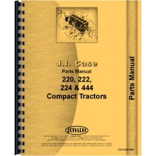 Case 222 Lawn & Garden Tractor Parts Manual (SN# 9736998-14036630)