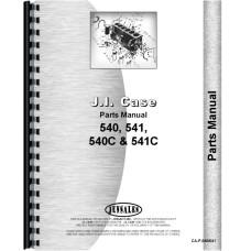Case 541 Tractor Parts Manual