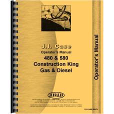Case 580 Industrial Tractor Operators Manual