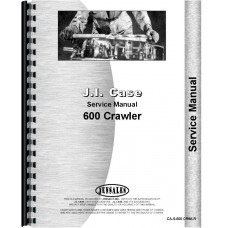Case 600 Crawler Service Manual