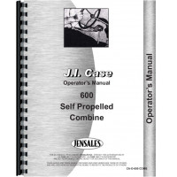 Case 600 Combine Operators Manual