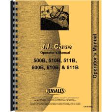 Case 610B Tractor Operators Manual