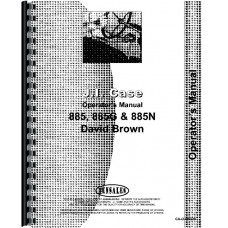 Case 885 Tractor Operators Manual