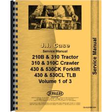 Case 23 Backhoe & Loader Attachment Service Manual