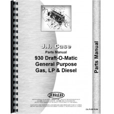 Case 930 Tractor Parts Manual (All SN#) (Comfort King)