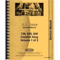 Case 843 Tractor Service Manual