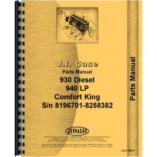 Case 941 Tractor Parts Manual (SN# 8196701-8258382)