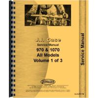 Case 1070 Tractor Service Manual