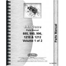 Case 995 Tractor Parts Manual (SN# 0-11070000)