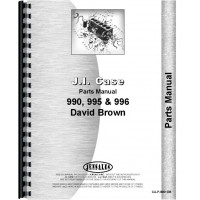 Case 996 Tractor Parts Manual (SN# 11070001 and Up) (11070001+)