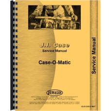 Case CASEOMATIC Tractor Service Manual
