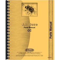 Case CC Tractor Parts Manual