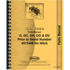 Case DC Tractor Parts Manual (SN# to 4511449)