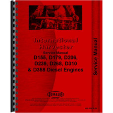 International Harvester 554 Tractor Engine Service Manual (1974-1975)