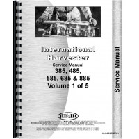 International Harvester 885 Tractor Service Manual (Chassis)
