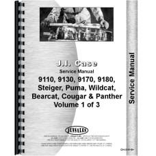Steiger Cougar 1000 Tractor Service Manual (SN# 17900250-JCB001501) (Series)