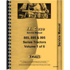 Case-IH 785 Tractor Service Manual (1986 and UP)