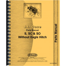 Case SC Tractor Parts Manual (SN# 4500001-5000001)