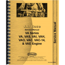 Case VAE Tractor Service Manual (SN# 5770000 and Up)
