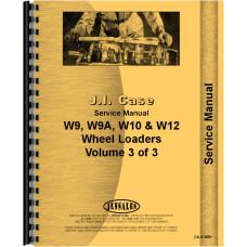 Case W12 Wheel Loader Service Manual