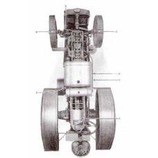 Firestone Tire Low Pressure Tractor Tire and Wheel Data 1933 Service Manual