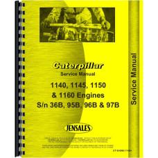 Caterpillar 1140 Engine Service Manual (SN# 36B and Up)