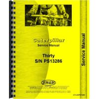 Caterpillar 30 Crawler Service Manual (SN# PS13286)