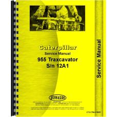 Caterpillar 955 Traxcavator Service Manual (SN# 12A1)