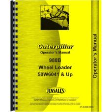 Caterpillar 988B Wheel Loader Operators Manual