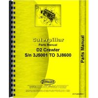 Caterpillar D2 Crawler Parts Manual (SN# 3J5001-3J8600)
