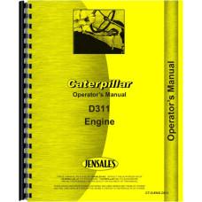 Caterpillar D311 Engine Operators Manual (SN# 51B1 and Up)