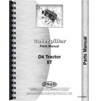 Caterpillar D4 Crawler Parts Manual (SN# 5T1 and Up) (5T1+)