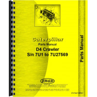 Caterpillar D4 Crawler Parts Manual (SN# 7U1-7U27569) (7U1-7U27569)