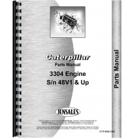 Caterpillar 941B Traxcavator Engine Parts Manual (SN# 70H2942and up)