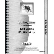 Caterpillar 3304 Engine Parts Manual (SN# 48V1and up)