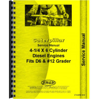 Caterpillar 12 Grader Engine Service Manual (SN# 7T1 and Up) (7T1+)