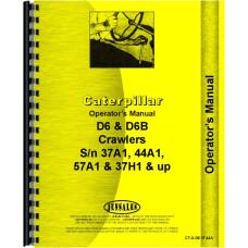 Caterpillar Crawler Operators Manual (CT-O-D6 37,44A)