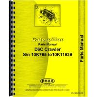 Caterpillar D6C Crawler Parts Manual (SN# 10K7953-10K11939) (10K7953-10K11939)