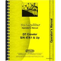 Caterpillar D7 Crawler Operators Manual (SN# 47A1 and up) (47A1+)