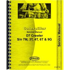 Caterpillar D7 Crawler Service Manual (SN# 3T, SN# 4T, SN# 6T, SN# 7M1 and Up, SN# 9G) (3T, 4T, 6T, 7M1+ and 9G)