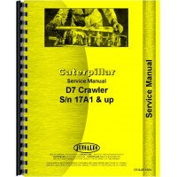 Caterpillar D7 Crawler Service Manual (SN# 17A1 and Up) (17A1+)