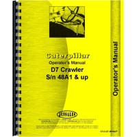 Caterpillar D7 Crawler Operators Manual (SN# 48A and Up) (48A+)
