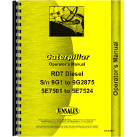 Caterpillar D7 Crawler Parts Manual (SN# 47A3396-47A5841) (47A3396-47A5841)
