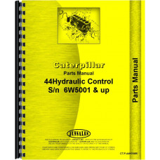 Caterpillar 44 Hydraulic Control Attachment Parts Manual (SN# 6W5001 and Up) (6W5001+)