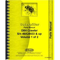 Caterpillar D8H Crawler Parts Manual (SN# 46A24433 and Up) (46A24433+)