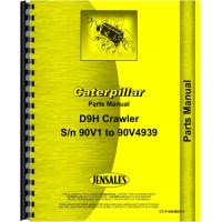 Caterpillar D8H Crawler Parts Manual (SN# 90V1-90V4839) (Chassis)