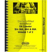 Caterpillar D8H Crawler Service Manual (SN# 36A5485 and Up, 46A28137 and Up, 68A4587 and Up) (36A5485+, 46A28137+ and 68A4587+)