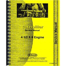 Caterpillar DW10 Tractor Engine Service Manual