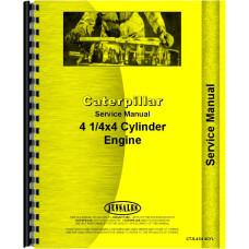 Caterpillar D440 Engine Service Manual (SN# 4H1-4H500, SN# 4H9001-4H9999)